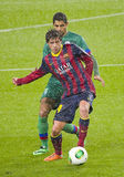 Sergi Roberto in action Stock Images