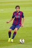 Sergi Roberto del FC Barcelona Imágenes de archivo libres de regalías