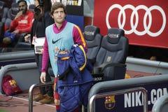 Sergi Roberto  of FC Barcelona Royalty Free Stock Image
