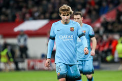 Sergi Samper during the UEFA Champions League game between Bayer Royalty Free Stock Images
