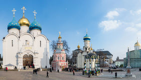Sergiev Posad, 15 Ρωσία-ΜΑΡΤΙΟΥ, 2012 μοναστήρι Στοκ Φωτογραφίες