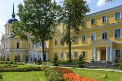 Sergiev Posad, Ρωσία - 2 Σεπτεμβρίου 2018: Ιερή τριάδα του ST Sergius Lavra  στοκ φωτογραφίες με δικαίωμα ελεύθερης χρήσης