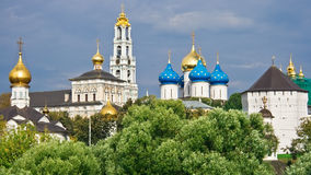 Sergiev Posad. One of the greatest Russian monasteries not far from Moscow royalty free stock photography
