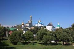 Sergiev Posad. Holy Trinity St. Sergius Lavra. Stock Images
