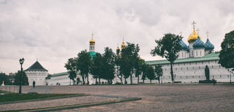 Sergiev Posad kloster Arkivbild