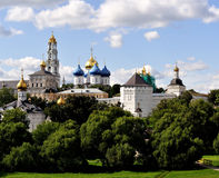 Sergiev Posad monastery Stock Photos