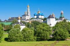 Sergiev Posad Monastery Stock Image