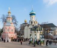 Sergiev Posad, Rusia - 28 de marzo de 2015 El grande fotografía de archivo
