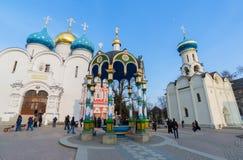 Sergiev Posad, Rusia - 28 de marzo de 2015 El grande imagen de archivo libre de regalías