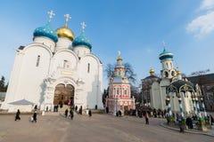 Sergiev Posad, Rusia - 28 de marzo de 2015 El grande imagenes de archivo