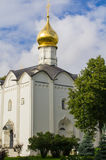Sergiev Posad, Rusia Territorio adyacente al templo de Sergius de Radonezh Imagen de archivo libre de regalías
