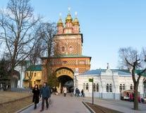 Sergiev Posad, 15 Rusland-MAART, 2012 Klooster Stock Afbeeldingen