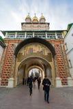 Sergiev Posad, RUSSIA-MARCH, 15, 2012 monasterio foto de archivo libre de regalías