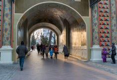 Sergiev Posad, RUSSIA-MARCH, 15, 2012 monasterio Fotos de archivo