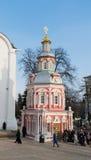 Sergiev Posad, RUSSIA-MARCH, 15, 2012 monasterio imagen de archivo