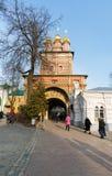 Sergiev Posad, RUSSIA-MARCH, 15, 2012 monastery Lizenzfreie Stockfotos