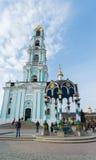 Sergiev Posad, RUSSIA-MARCH, 15, 2012 monastery Stockfotos