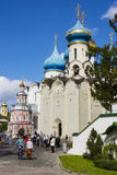 SERGIEV POSAD, RUSSIA - SEPTEMBER 7, Holy Trinity-St. Sergius La Royalty Free Stock Photography