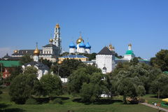 Sergiev Posad. St. Sergius Lavra de la trinidad santa. Fotografía de archivo libre de regalías