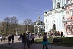 Sergiev Posada fotografii kopuły Zdjęcie Royalty Free