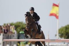Sergio Álvarez Moya during CSI Casas Novas Horse Jumping Competition