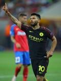 Sergio Aguero, goal celebration Stock Image