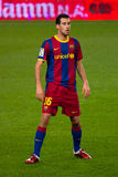 Sergio Busquets (FC Barcelona) Royalty Free Stock Images