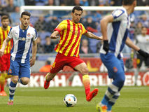 Sergio Busquets of FC Barcelona Royalty Free Stock Photography