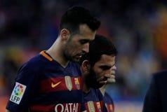 Sergio Busquets of FC Barcelona Stock Photo