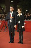 Sergio Castellitto und Margaret Mazzantini Stockfoto