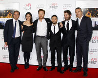 Sergio G. Sanchez, Ewan McGregor, Juan Antonio Bayona, Belen Atienza, Alvaro Augustin and Ghislain Barrois. At the AFI FEST 2012 Special Screening of 'The stock photography