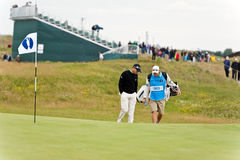 Sergio Garcia  at the 2011 open Royalty Free Stock Image