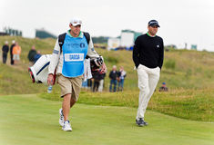 Sergio Garcia  at the 2011 open Royalty Free Stock Images