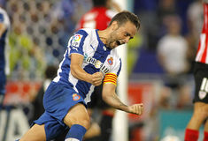 Sergio Garcia of RCD Espanyol Stock Images
