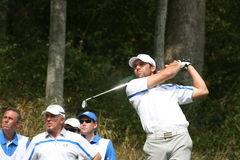 Sergio Garcia at Ryder Cup Royalty Free Stock Images