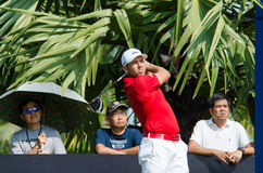 Sergio Garcia in Thailand Golf Championship 2015 Royalty Free Stock Photo