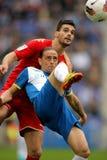 Sergio Garcia von Espanyol Lizenzfreies Stockbild