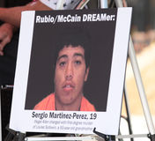 Sergio Martinez-Perez. 19 year old man charged with first degree murder of Louise Sollowin, 93 Royalty Free Stock Image