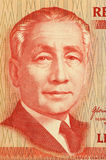 Sergio Osmena. On 50 Piso 2008 Banknote from Philipines. Second president of the Philipines Stock Photography