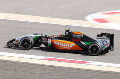 Sergio Perez of Force India-Mercedes racing Royalty Free Stock Images