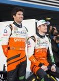 Sergio Perez & Nico Hulkenberg Royalty Free Stock Image