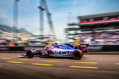 Sergio Perez, Sport Pesa Racing Point, Monaco 2019