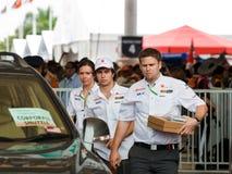 Sergio Perez (team Sauber) Stock Image