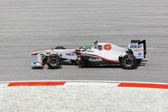 Sergio Perez (team Sauber) Royalty Free Stock Photography