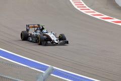 Sergio Perez von Sahara Force India Formel 1 Sochi Russland Lizenzfreie Stockfotos