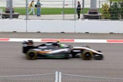 Sergio Perez von Sahara Force India Formel 1 Sochi Russland Stockfotos