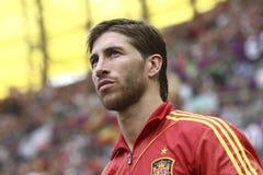 Sergio Ramos zdjęcia royalty free