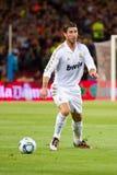 Sergio Ramos de Real Madrid Fotografia de Stock