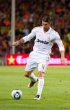 Sergio Ramos de Real Madrid Imagen de archivo