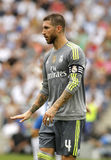 Sergio Ramos de Real Madrid Photographie stock